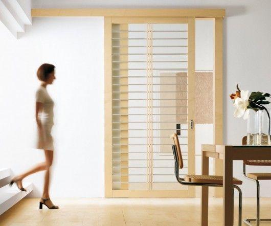 Modern Interior Exit Sleek Sliding Door