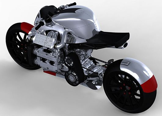 Kickboxer - Subaru WRX powered concept motorcycle.  A bit odd, but nice.  And obviously a WRX powered motorcycle is a fantastic idea.