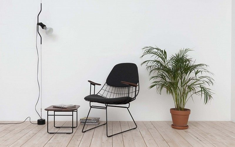 Design Pastoe Stoelen : Pastoe pastoe chairs: wire collection wire lounge chair fm