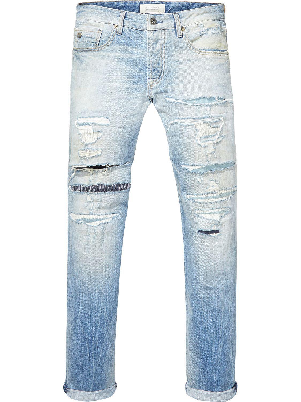 Ralston Hero 1 Regular Slim Fit Mens Outfits Slim Fit Denim Wash