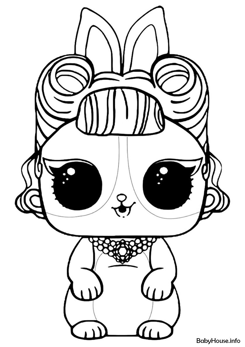 Lol Pets Coloring Pages : coloring, pages, Jitter, Critter, High-quality, Coloring, Category:, L.O.L, Pets., Printable, Pictures, Unicorn, Pages,, Bunny, Pages