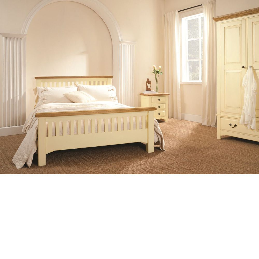 Cottage Cream Painted 3 Drawer Dressing Table | Cream ...