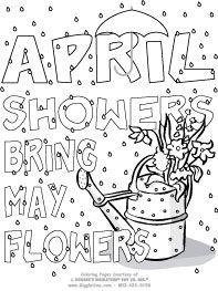 April Showers Kid FunPrintables Pinterest April showers