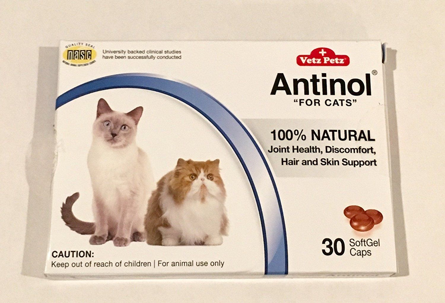 Antinol 30 Count Joint Health Supplement For Cats Softgel Caps Read More At The Image Link This Is An Af Joint Health Joint Health Supplement Cat Health