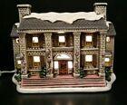 Lefton 1988 06902 Byron Wood Colonial Village Majors Manor Christmas Light T99 #Holiday