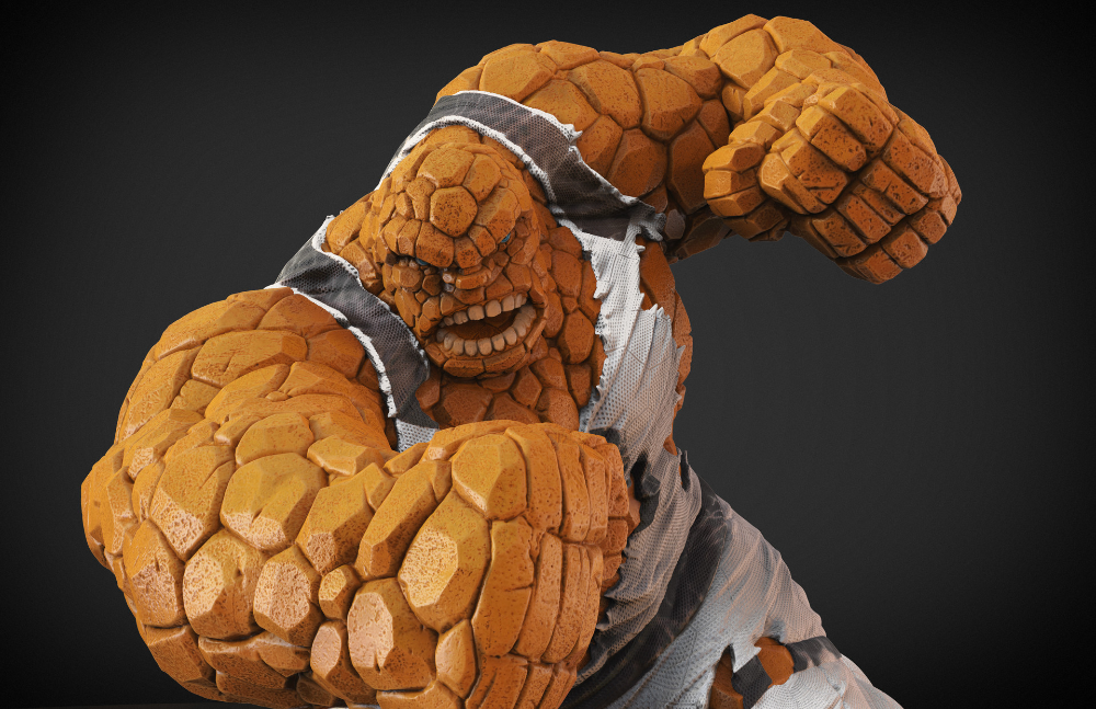 Artstation The Thing Avengers Vs X Men Fanart Miguel Hernandez Urbina Fan Art Comic Art Avengers