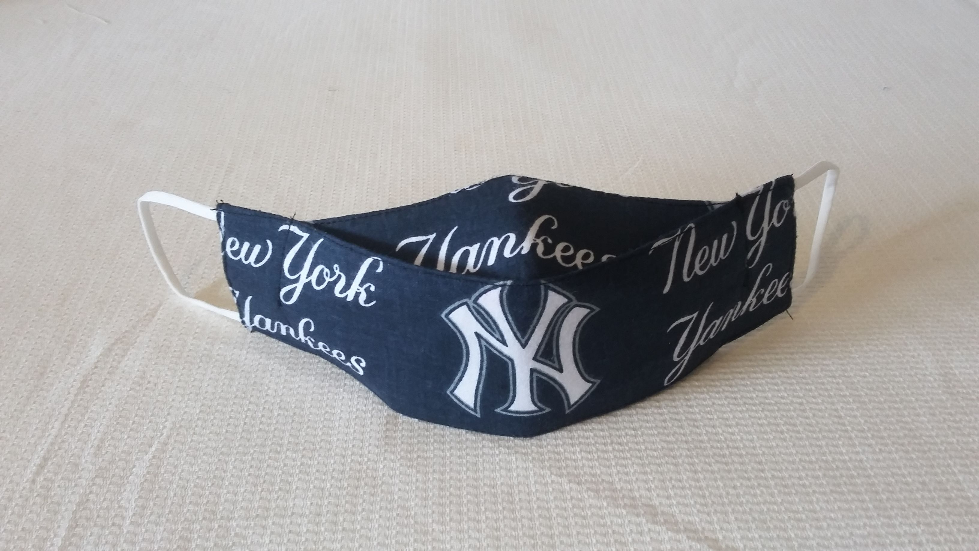 New York Yankees In 2020 Fashion Face Mask Face Mask Pink Nails