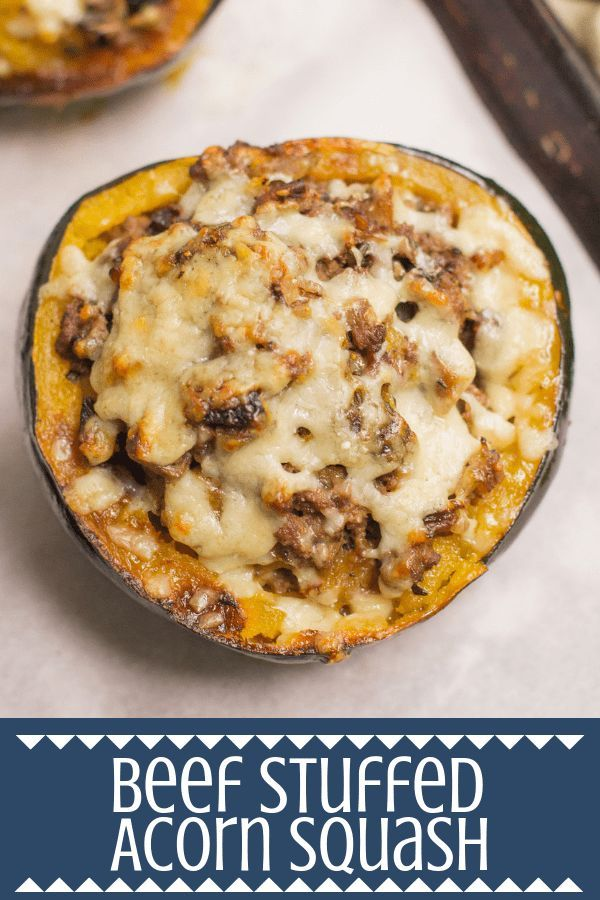 Beef Stuffed Acorn Squash images
