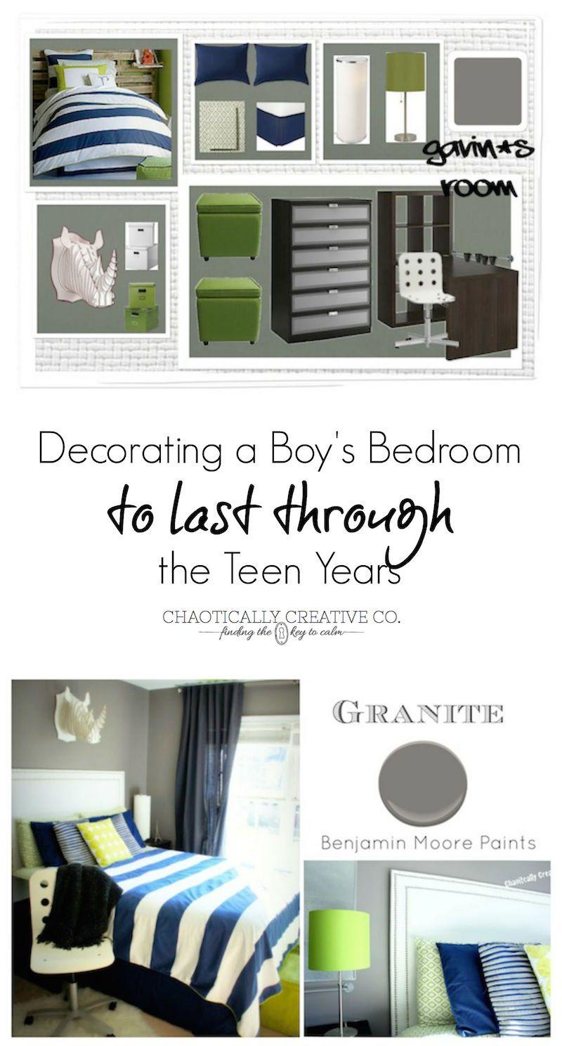 Boy to Teen Bedroom - Chaotically Creative