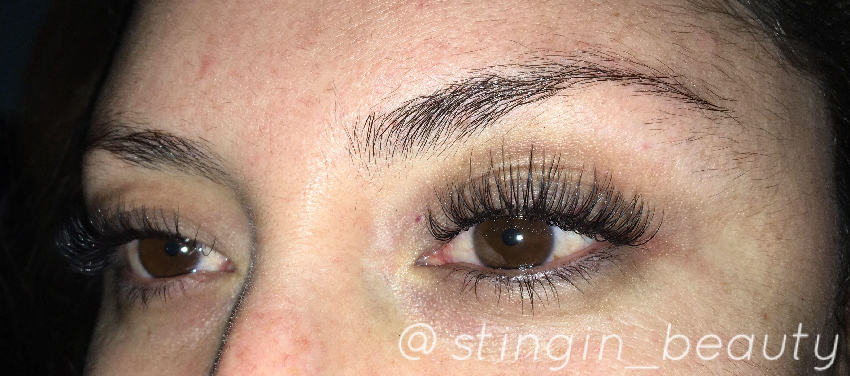 67633e09f1a Natural doll eye'd eyelash extensions | Lash extensions | Instagram ...