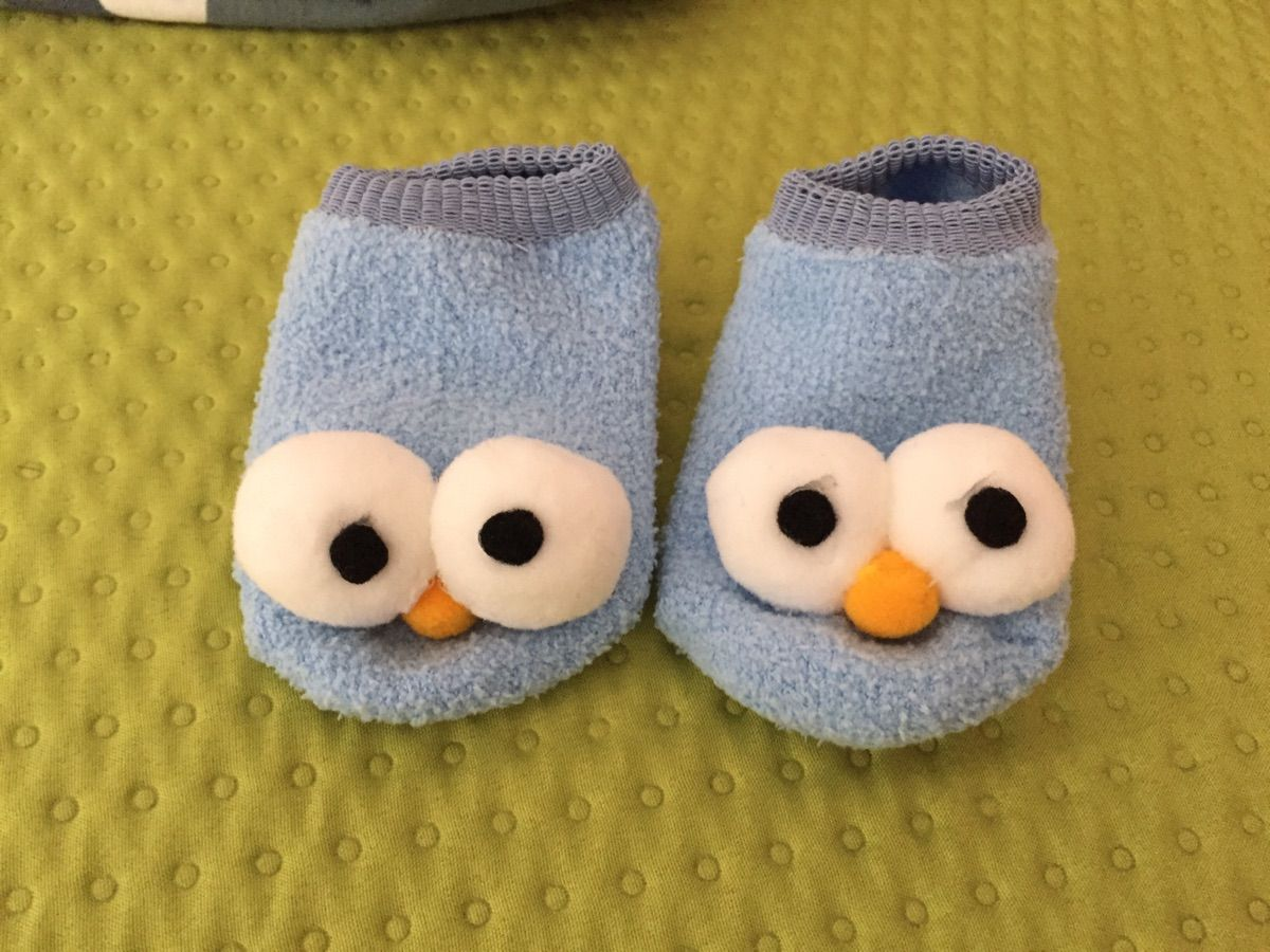 New  3D Cute Big Eyes Design Socks for Baby