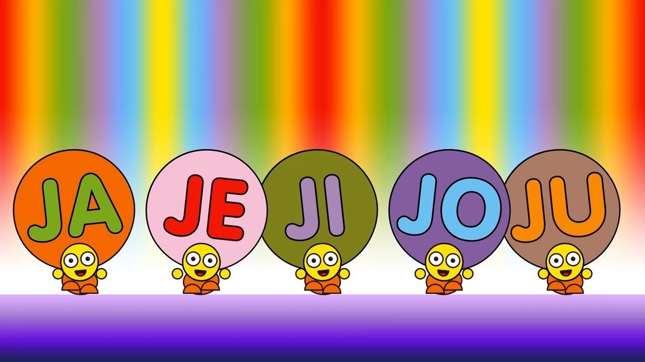 Ja Je Ji Jo Ju Criancas Inteligentes Portugues A E I O U