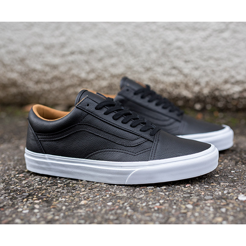 Factory Online Vans Old Skool Leather Premium Trainers (Brown) E38h5155