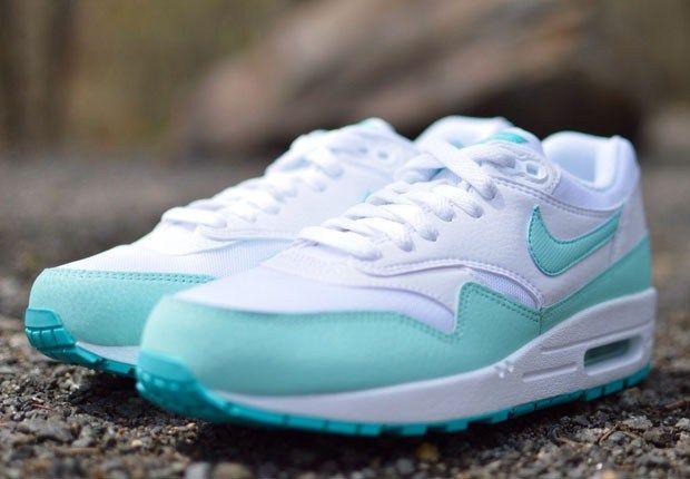 low priced 32f78 18057 NIKE 2015 Air Max 1 Tiffany blue | Sneakers | Nike Air Max, Nike ...