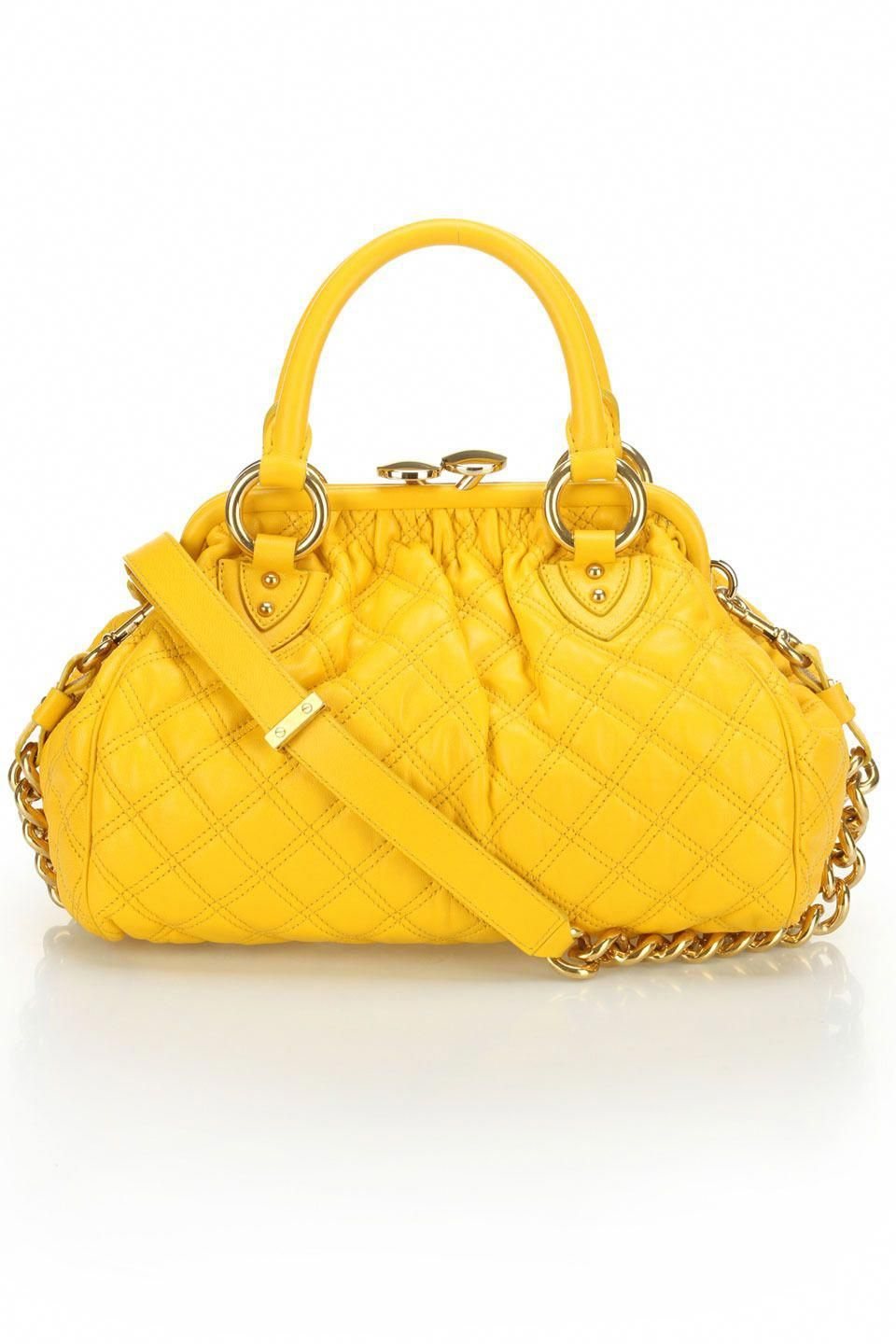 531990edcd1 Vintage-Inspired Handbag In Yellow. | Best Leather Handbags | Bags ...