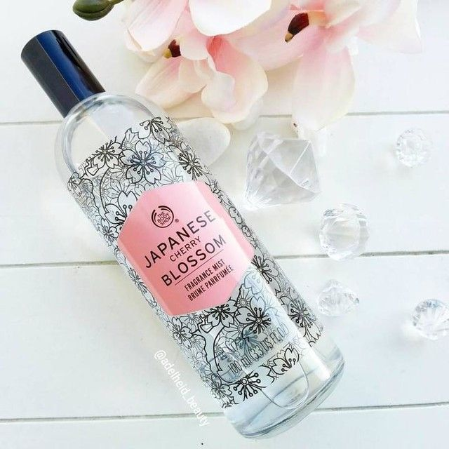 Gently Scent Your Skin With The Sweet Floral Fragrance Of The Japanese Cherry Blossom Fragrance Mist Cherry Blossom Fragrance Body Shop At Home The Body Shop