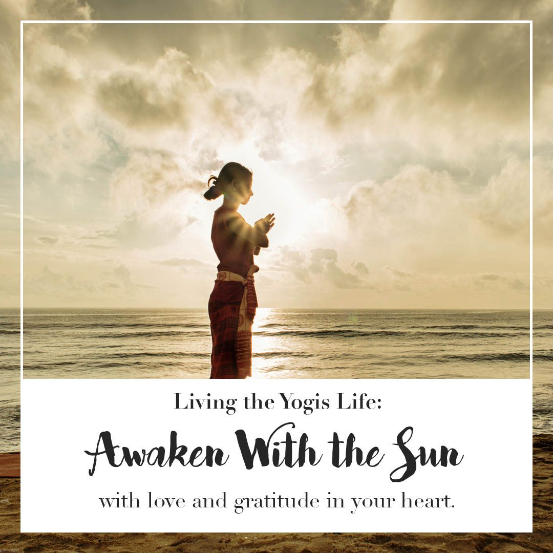 Awaken with the sun! | See more inspiration and yoga tips at www.blooming-lotus-yoga.com