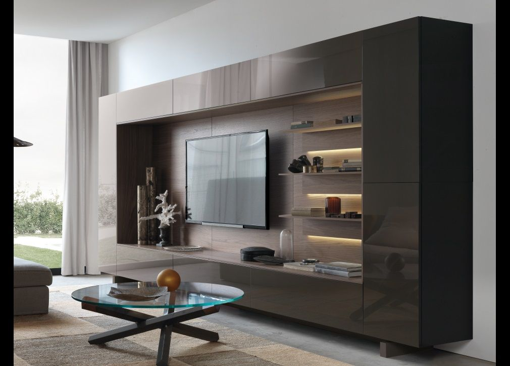 Modern Media Wall Units jesse open wall unit 13 | designs | pinterest | walls, tv units