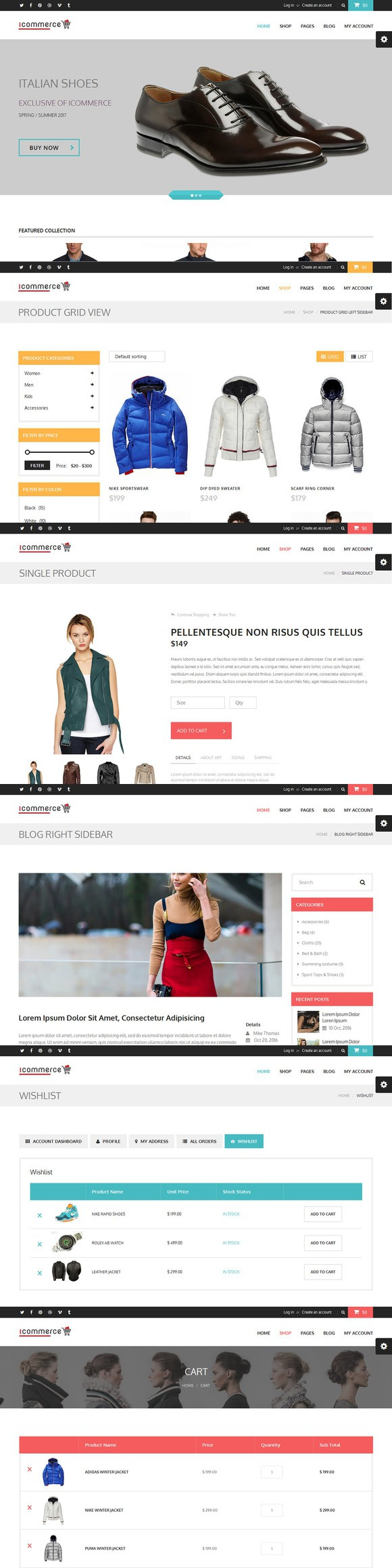 Html Template. Bootstrap Templates