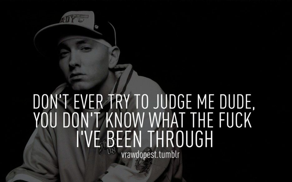 Lyric freestyle diss lyrics : Eminem is my idol his lyrics tell his life story | Eminem Quotes ...