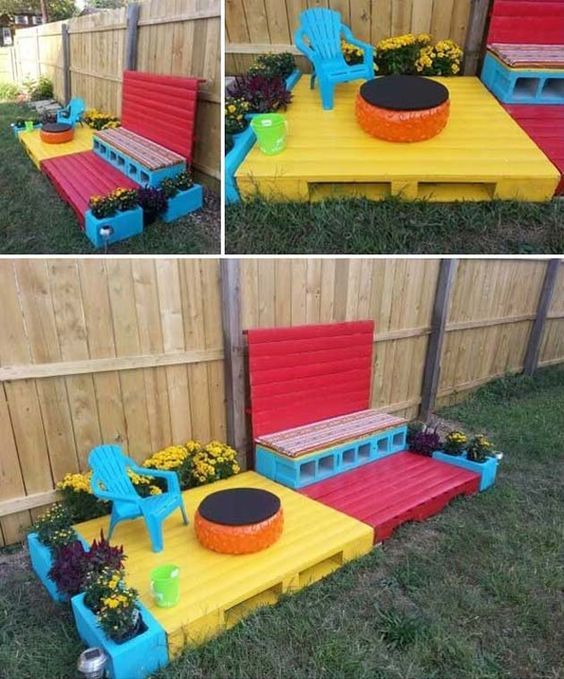 17 Cute Upcycled Pallet Projects For Kids Outdoor Fun Outdoor