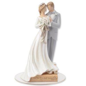 topo de bolo importado - noivinhos para casamento