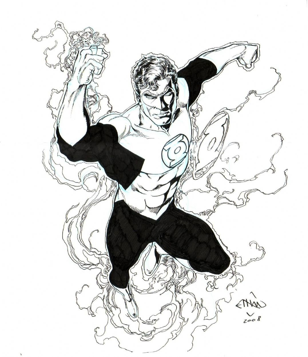 Ethan Van Sciver Green Lantern