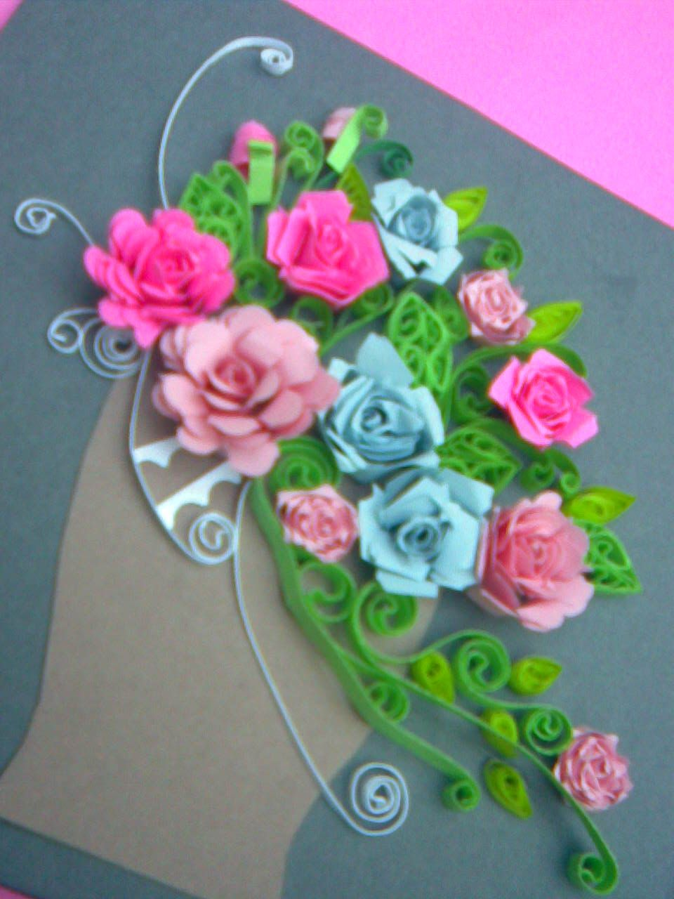 quilling projects Paper crafts quilling letters: looks cool but time-consuming find this pin and more on quilling projects by michelle gann this could make me want to quill paper crafts quilling initials -- i've got to try this.