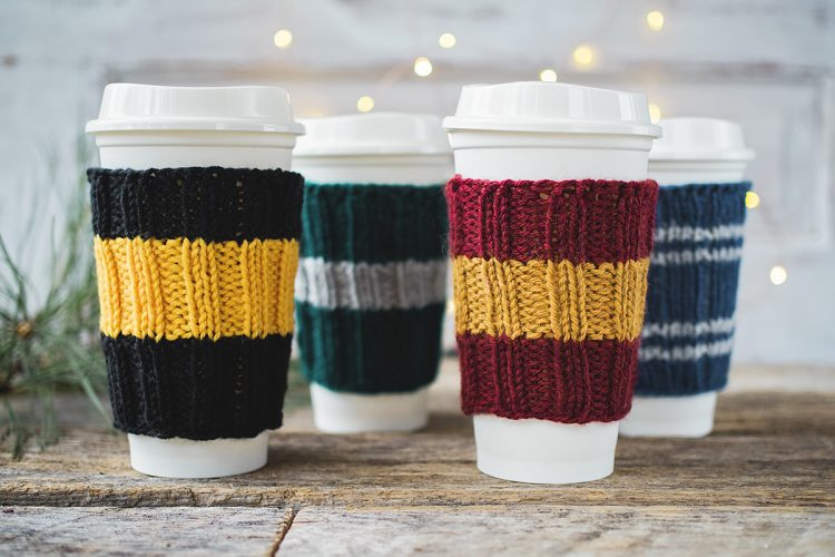 Free Winter Coffee Inspired Knitting Pattern | Fast and ...