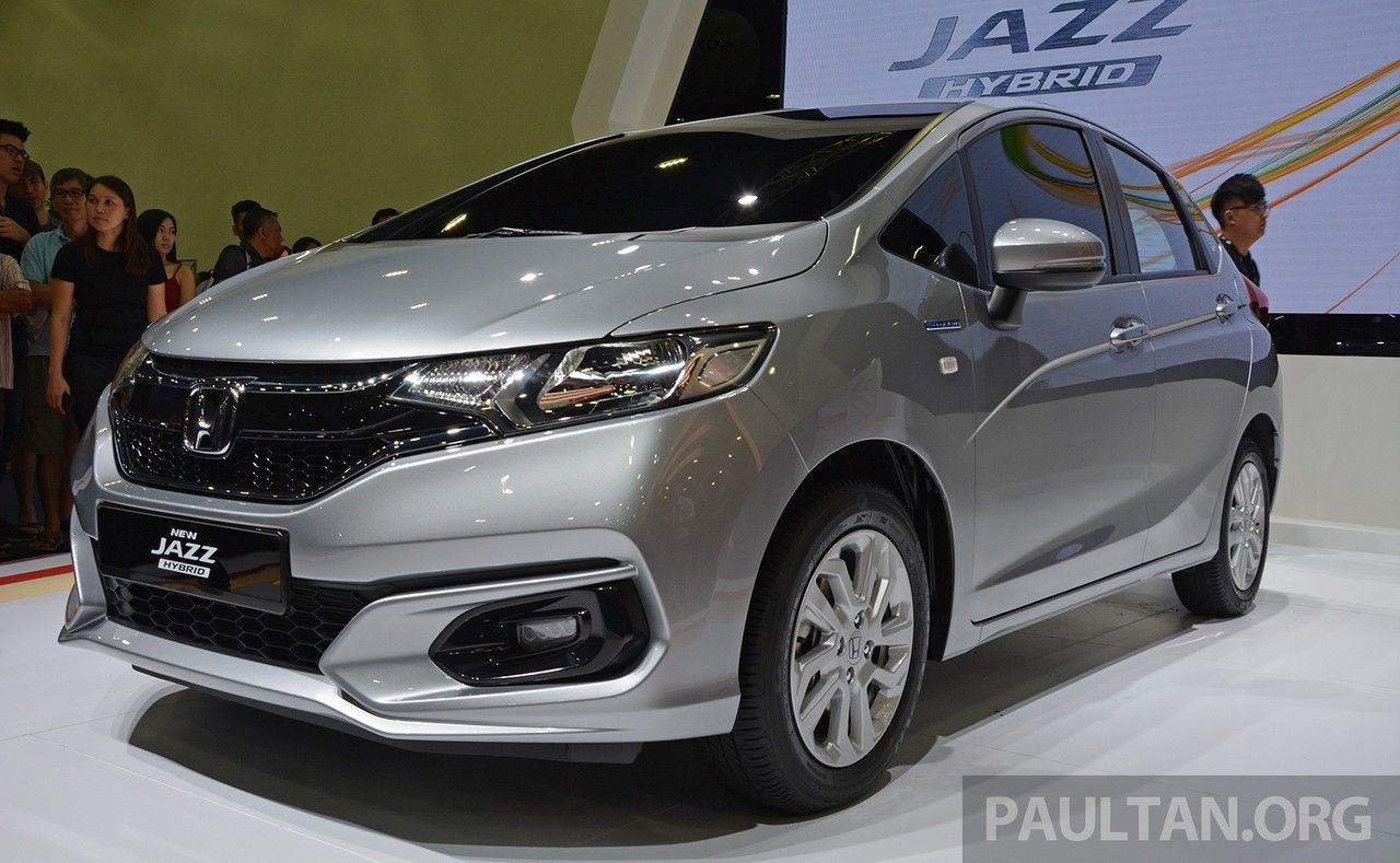 2017 Honda Jazz hybrid (Facelift) showcased in Malaysia