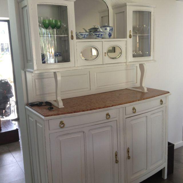 Muebles antiguos pintados muebles reciclados pinterest - Pintar mueble antiguo ...