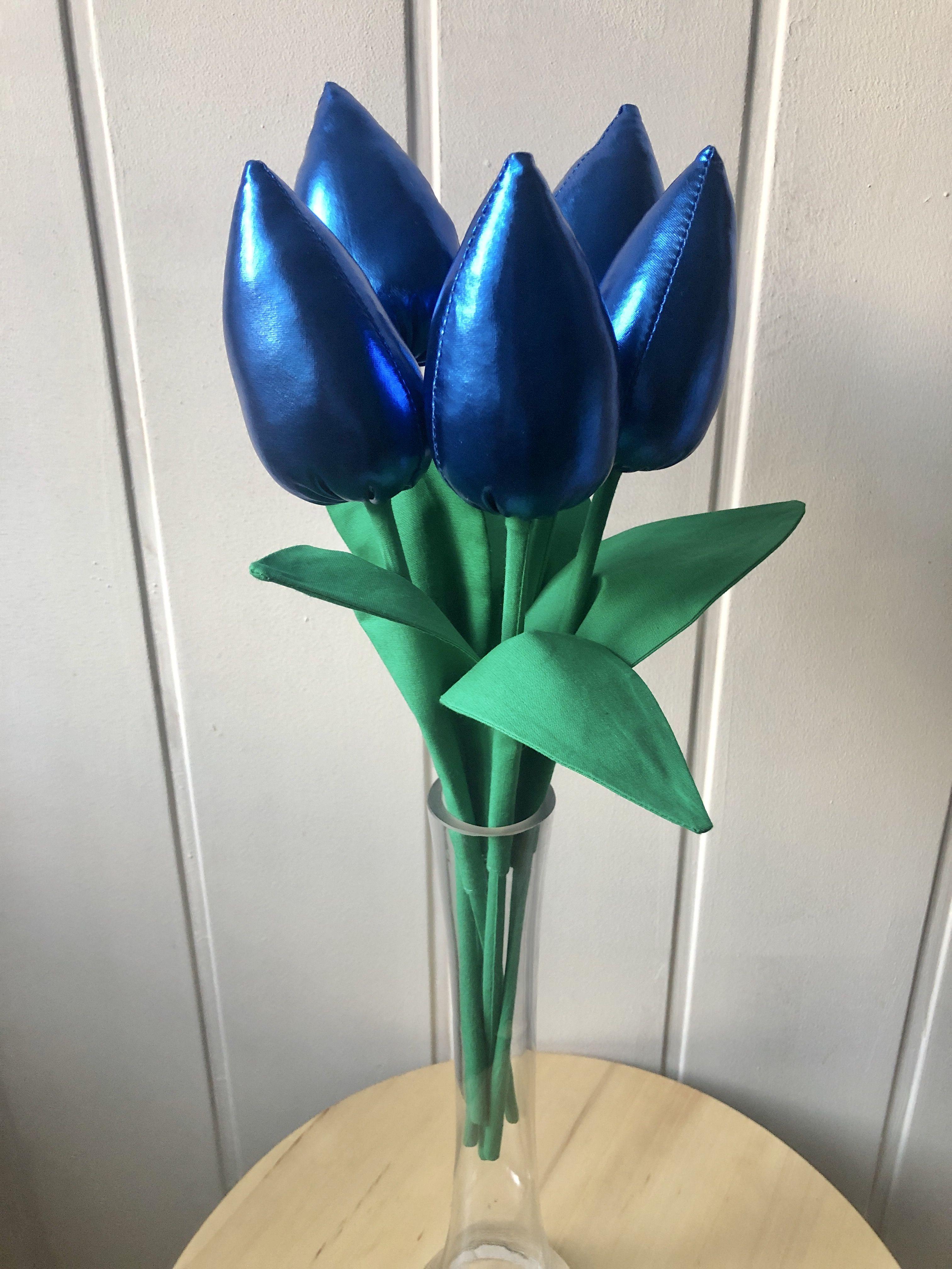 Tulipany Z Materialu Diy Sewing Sewing Diy