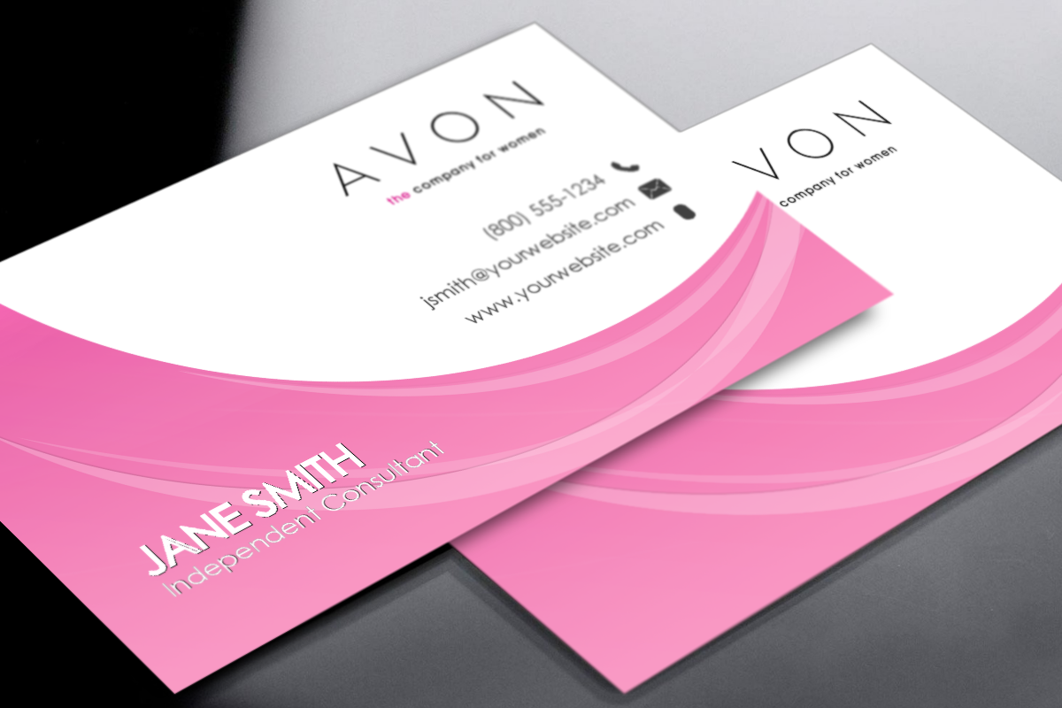 Avon Business Printing Cards