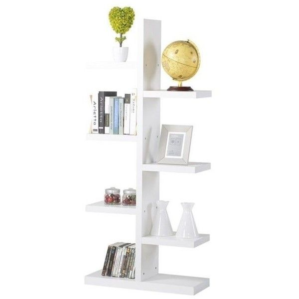 Homestar 7 Shelf Bookcase (320 BRL) ❤ liked on Polyvore featuring