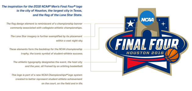 March Logo Madness A History Of The Official Ncaa Final Four Logos Ncaa Final Four Final Four Ncaa Basketball