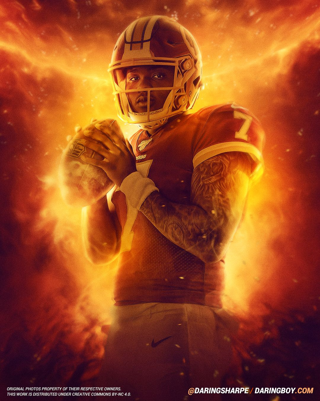 Dwayne Haskins Washington Redskins Daring Boy Interactive Is The