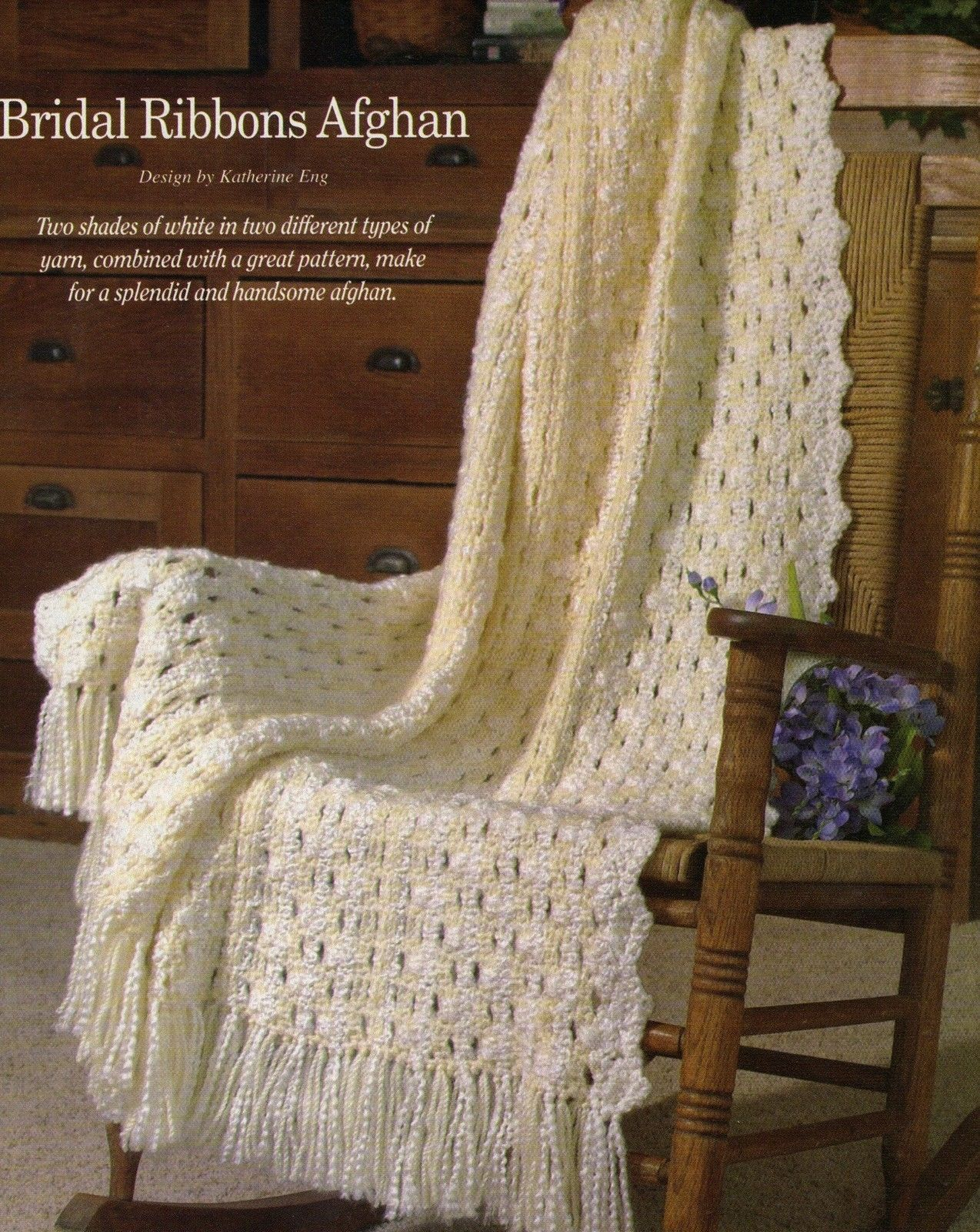 LOVELY Snuggly Wraps Afghans//Crochet Pattern INSTRUCTIONS ONLY