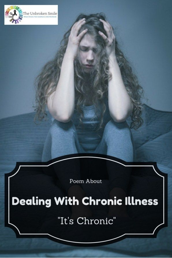 Poem About Dealing With Chronic Illness | It's Chronic