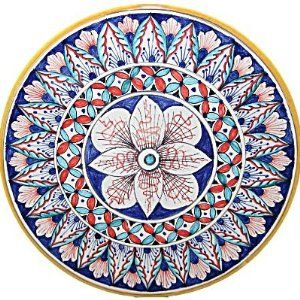 Deruta Ceramic Pottery Italian Majolica Wall Plate byRonnies Specialties