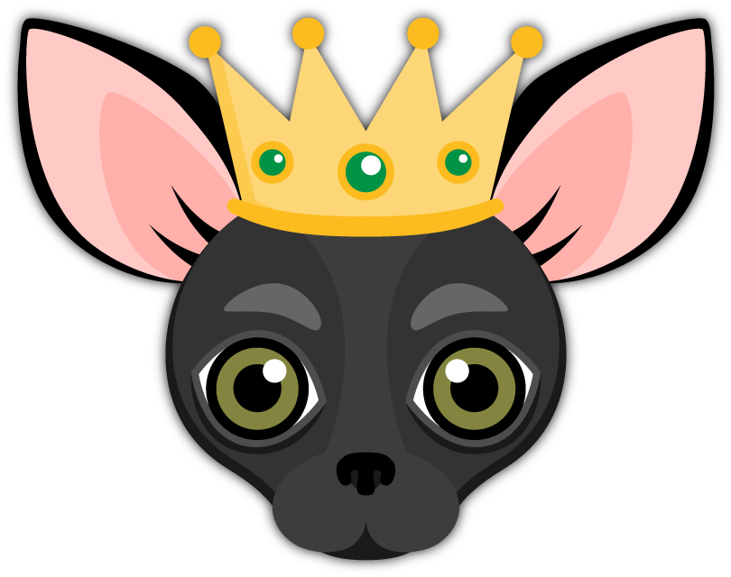 Black Chihuahua Emoji Stickers for iMessage Are you a