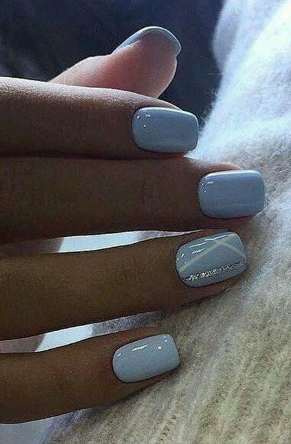 25 Perfect Winter Nail Designs To Make You Feel Warm #nails #naildesigns #nailar... - Welcome to Blog