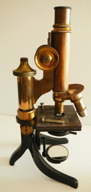 Antique Science Instruments : Vintage microscope rh antiques pinterest closer