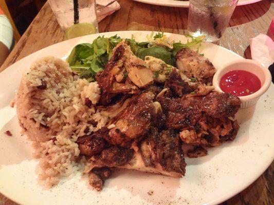 King Of Jerk Chicken And Pork Pinterest Chef Bobby Flay Iron