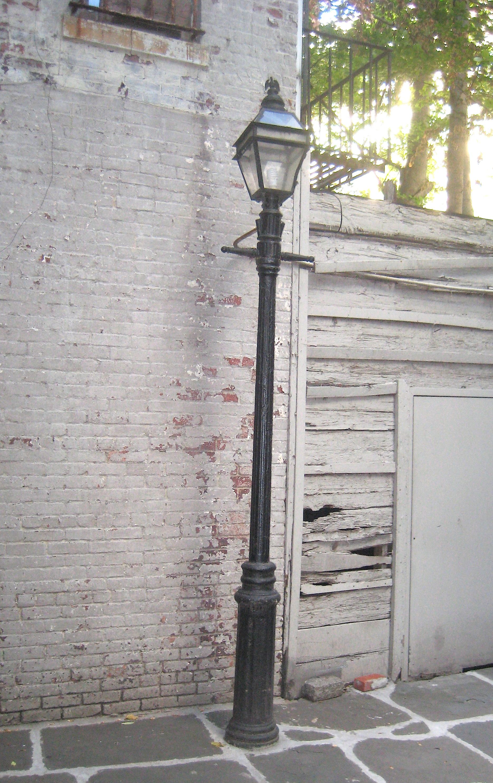 Posts About Poets And Writers On Ephemeral New York Street Lamp Gas Lamp West Village
