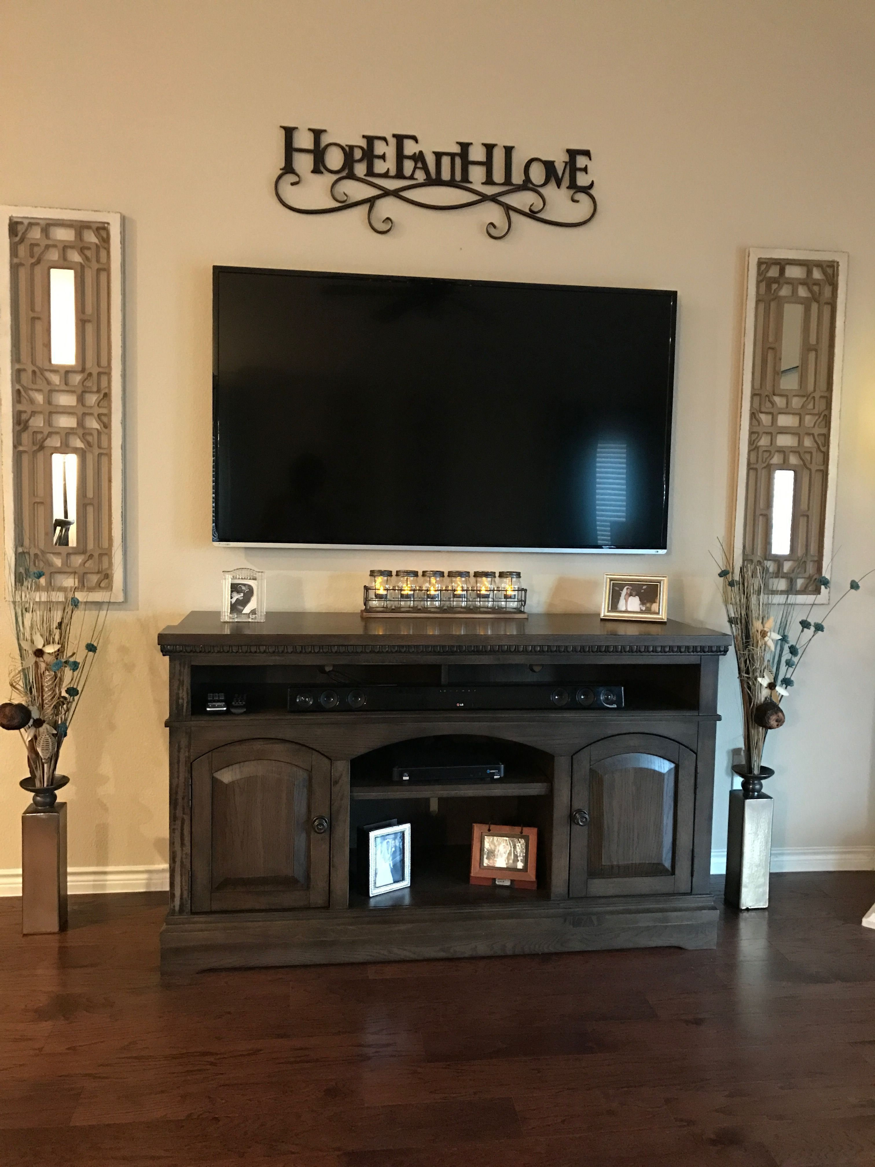 50 Cool Tv Stand Designs For Your Home Tv Stand Ideas Diy Tv Stand Ideas For Living Room Tv Stand Farmhouse Decor Living Room Tv Decor Farm House Living Room