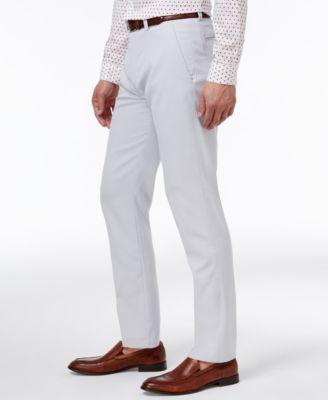 3c94b7c43 Kenneth Cole Reaction Men's Slim-Fit Fine Twill Techni-Cole Pants ...