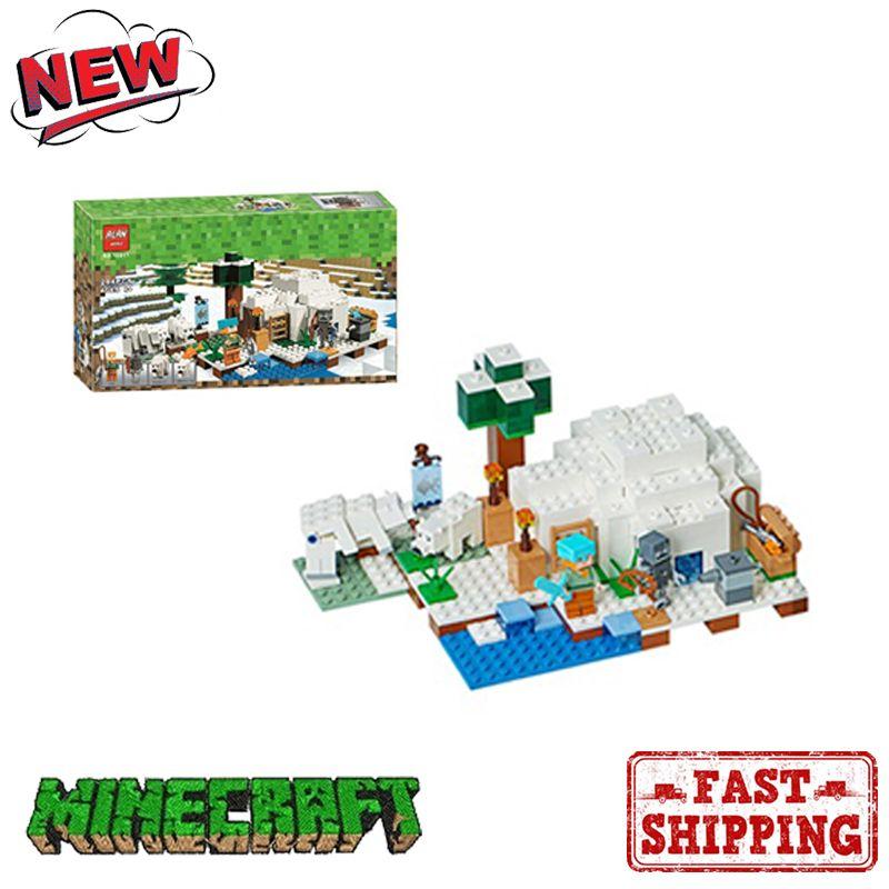 Minecraft Toys Kids Children ActionFigure Ice Snow