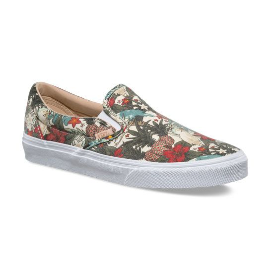 Havana Floral Classic Slip-On Shoes
