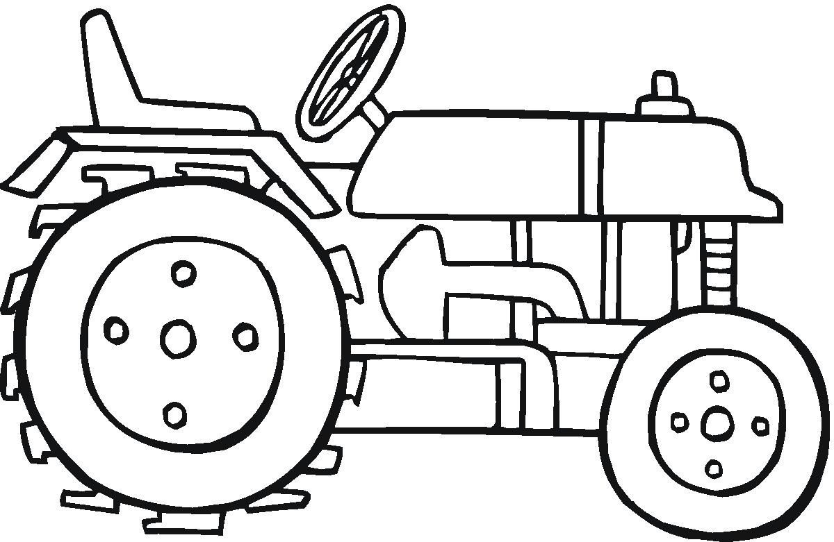 Tractor Coloring Pages For Kids pdf printable | Coloring Pages in ...