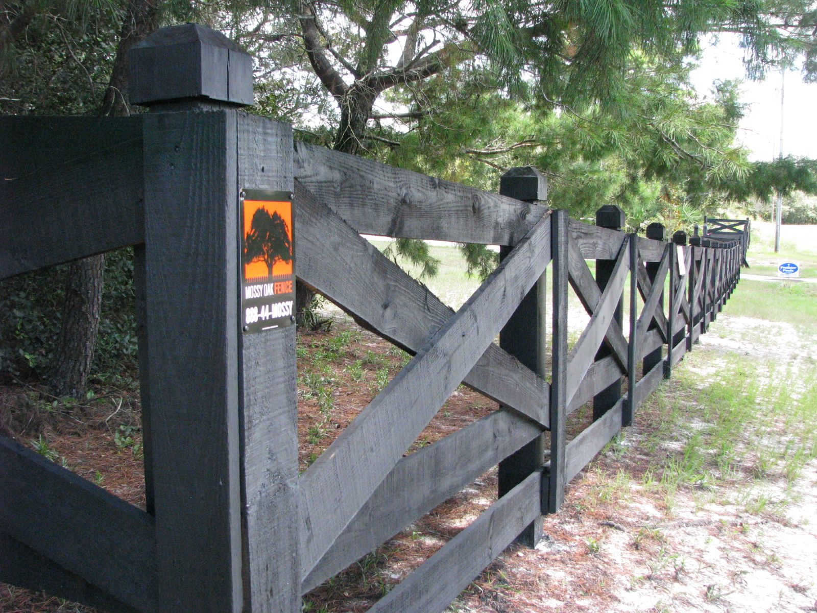 custom ranch rail horse fence by mossy oak fence great for